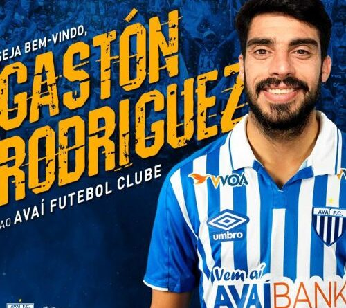 Gastón Rodriguez novo camisa 9 do Avaí