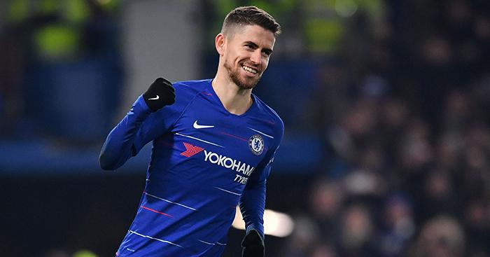 Jorginho em ação pelo Chelsea
