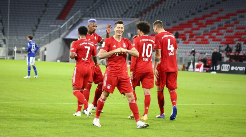 Bayern de Munique x Schalke 04