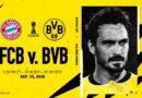 Com novos desfalques, Borussia Dortmund enfrenta o Bayern nessa quarta