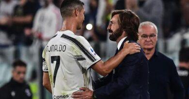 Pirlo diz que ainda não sabe se Cristiano Ronaldo estará disponível para enfrentar o Barcelona