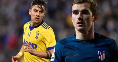 Barcelona e Juventus cogitam trocar Griezmann por Dybala