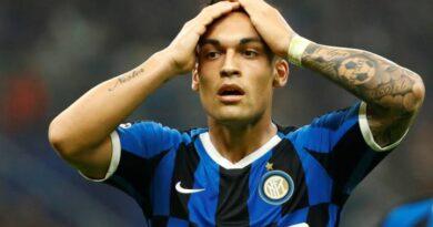 Lautaro Matínez afirma estar feliz na Inter de Milão