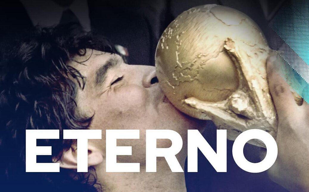 Homenagem dos argentinos a morte de Diego Armando Maradona