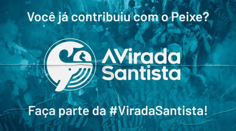 Vaquinha virtual do Santos para quitar dívidas na Fifa.