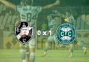 Coritiba vence o Vasco e quebra jejum de 10 jogos