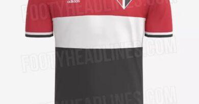Vaza suposta nova camisa III do São Paulo para temporada 2021/2022