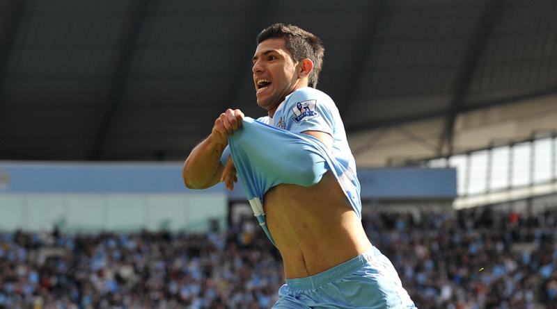 Manchester City homenageia Sergio Aguero em uniforme para a próxima temporada